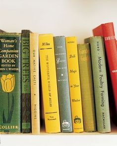 "See the ""Garden Books"" in our  gallery"