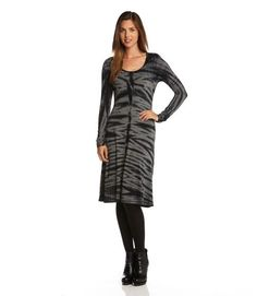 Karen Kane Tie Dye A Line Dress