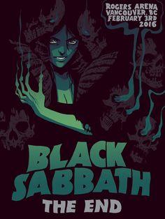 Black Sabbath - Becky Cloonan - 2016 ----