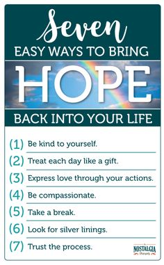 7 Easy Ways to Bring Hope Back Into Your Life