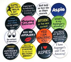 aspie button collection