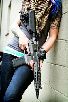 Full Of Weapons: Ladies