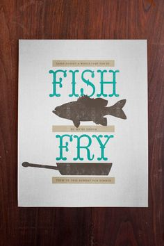 Fish Fry Invitation Image File by GigglesToGo on Etsy, $12.00 ...