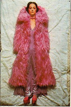 Pink faux furrr. you know what I love.