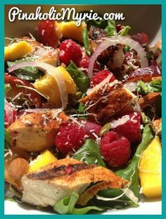 Grilled Chicken & Fruit Salad – Tasty Tuesday | Pinaholic Myrie