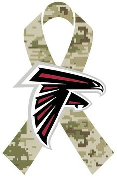 Throughout the month of November, the Falcons will celebrate the NFL's Salute to Service campaign #RiseUp