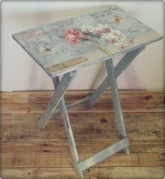 Decoupage furniture from the Internet .. Discussion on LiveInternet - Russian Service Online diary #decoupagefurniture