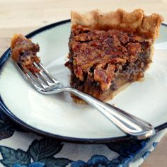 Six Tips to a Better Pecan Pie (River Bottom Pecan Pie) from It's Not Easy Eating Green.