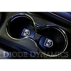 2011-2013 #Dodge #Avenger Cupholder Inserts #diodedynamics