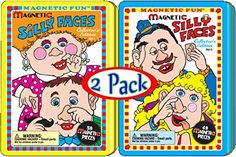 Magnetic Fun Tin: Silly Faces Sets 1 and 2 Gift Set Bundle - 2 Pack *** You can find out more details at the link of the image.