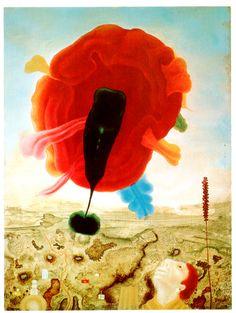 Rudolf Hausner, Art Techniques, Faeries, Vienna, Austria, Surrealism, Sci Fi, Paintings, Dark