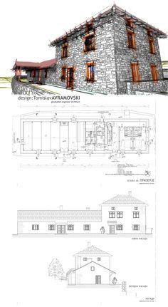 MANDRA - traditional Macedonian architecture - homestad conversion into small mountain eco hotel