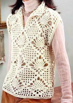 Stylish Easy Crochet: Sweater - Crochet Sweater For Women