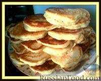 Фото к рецепту: Пышные оладушки