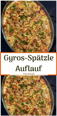 Gyros-Spätzle Auflauf - Welcome to our website, We hope you are satisfied with the content we offer. Healthy Vegetarian Recipes, Easy Healthy Dinners, Easy Dinner Recipes, Dinner Ideas, Dinner With Ground Beef, Ground Beef Recipes, Clean Eating Recipes, The Best, Chicken Recipes