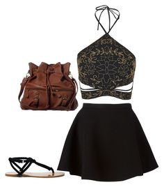 """""""Untitled #24"""" by california347 on Polyvore featuring Topshop, Neil Barrett, Sole Society and ANS"""