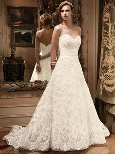 Casablanca Bridal style #2127