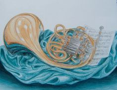 French Horn by TalentedTiger on DeviantArt