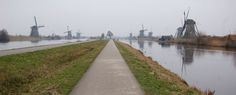 Turned to advantage Windmill, Holland, Dutch, Country Roads, Space, Water, Art, The Nederlands, Floor Space