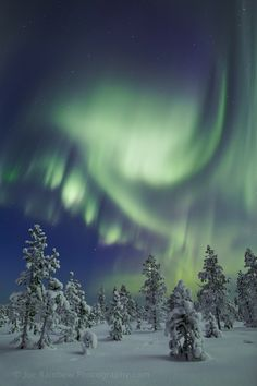 Nothern Lights - Photograph Dream World by Joe Rainbow on 500px - just like in Lappland in Finland