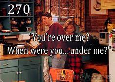 *sigh* Ross and Rachel!!