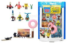 Mega Bloks SpongeBob SquarePants Post-Apocalypse Figure Pack  Code: 02467  order at www.shopaholic.com.ph  #nick #nickjr #nickelodeon #gift #shopph #toy