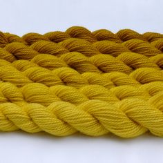 Harvest Gold Gradated Yarn Set. via Etsy.