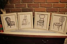 FRENCH PROVINCIAL RUSTIC SHABBY CHIC PICTURE/PHOTO FRAMES X 4