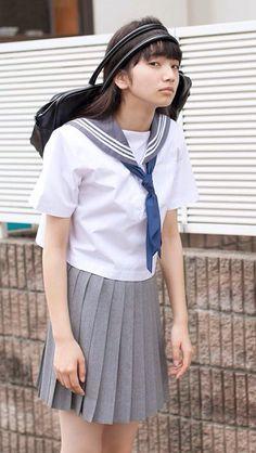 Silly schoolgirl