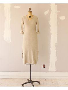 VINTAGE ANGORA SWEATER DRESS   Shop Dear Society