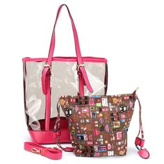 New Fashion PVC clear hand Bag factory China Set Beach Bag Transparent  Shoulder Crossbody Bags Ladies de0b12eaf0c60