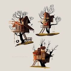 Treehouses for a personal project. I was working on my portfolio and I happened to like this page so, here goes !