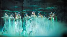 """Sitting on the front row watching Dance Drama """"To Meet the Grand Canal"""" in Hangzhou Grand Theatre! #Hangzhou #Grand #Canal #Art #performance #dance #drama #TravelwithMMP"""