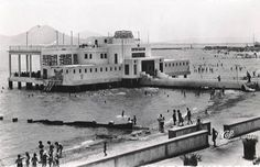 """La jetee de La Goulette. La Goulette was a popular summer resort in the 19th century, with an area known as """"La Petite Sicile"""" that was home to a sizeable Jewish, Italian, and Maltese community."""