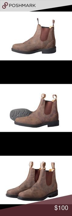 Blundstone Rustic Brown boot New Blundstone boots in perfect condition. Size 9 1/2 color: rustic brown Blundstone Shoes Boots