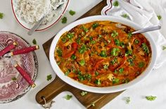 Igorin kana, lukijoiden suosikki Curry, Food And Drink, Low Carb, Pasta, Lunch, Treats, Fresh, Chicken, Baking