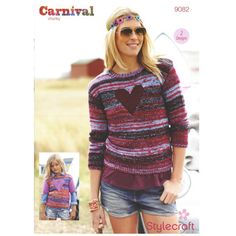 Sweaters in Stylecraft Carnival and Special Chunky