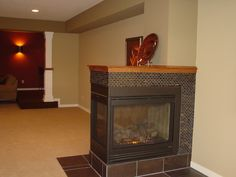 Traditional Home 3 Sided Fireplace Design, Pictures, Remodel, Decor and Ideas - page 2