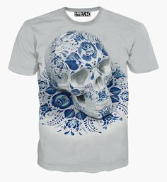 Glare Mushroom 3D new t-shirt both side print tees assorted styles