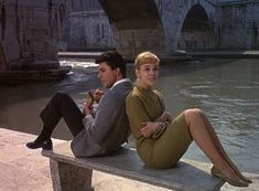 Cindy Carol and James Darren in Gidget Goes to Rome