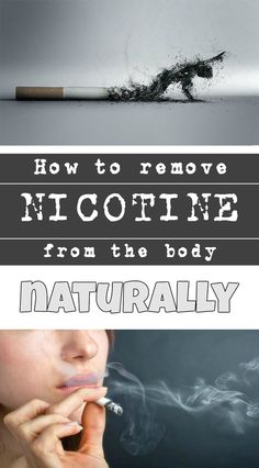 How to remove nicotine from the body naturally - BeautyZone.info