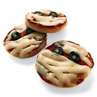 pizza mummies - kid halloween party