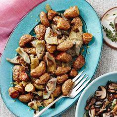 Roasted Potatoes and Artichokes - FamilyCircle.com