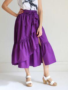 Rachel Comey Bossa Skirt - Purple