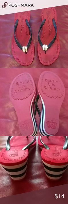 Nice Sandals Juicy Couture High Sandals Juicy Couture, colors red, black and white ,exclusive of decoration Juicy Couture Shoes Sandals
