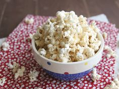 Sweet & Spicy Popcorn  Jazz up a concession-stand favorite with a little bit of sweet and a little bit of spicy. Perfect for cozy nights in with your favorite people and movies.