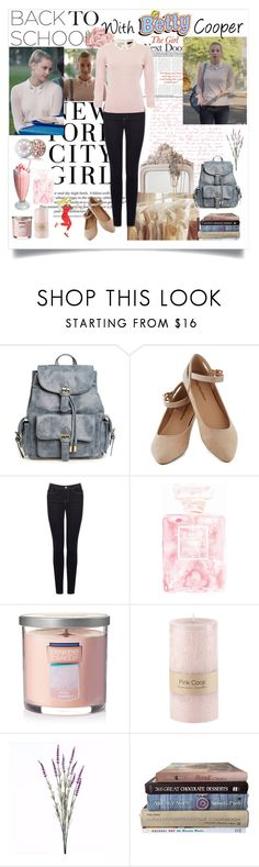 """Betty Cooper"" by eva-pelageina ❤ liked on Polyvore featuring Tiffany & Co., Etiquette, H&M, Warehouse, Chanel, Yankee Candle, Wyld Home and Guerlain"