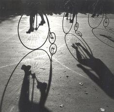 Stanko Abadžic    Three High Wheelers  2000/2008  Silver print