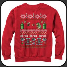 15 Best 15 Must Have Video Game Christmas Sweaters Images