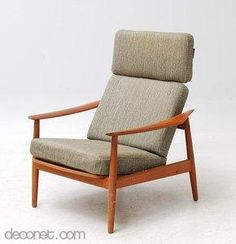 Easy chair, FD 164 by Arne Vodder at Decopedia